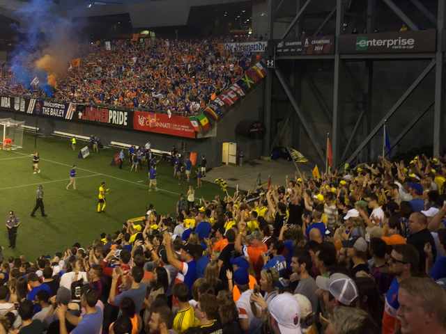 f4dc2db0072 FC Cincinnati draws tens of thousands to watch 1-0 victory over Columbus