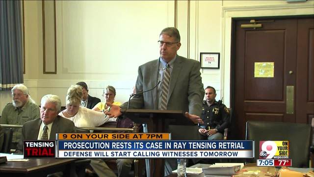 Prosecution rests its case in Ray Tensing retrial