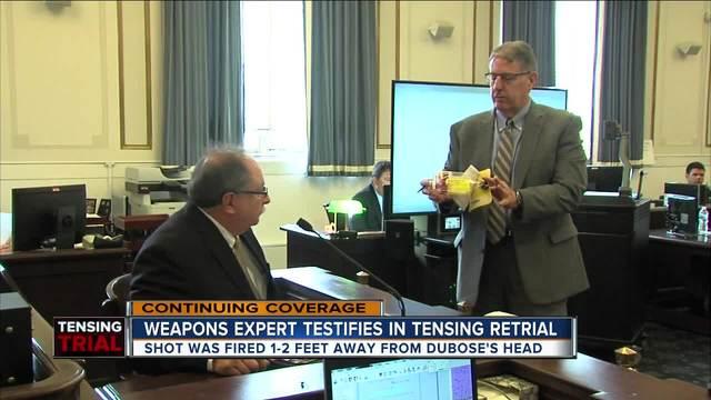 Weapons expert testifies in Ray Tensing retrial