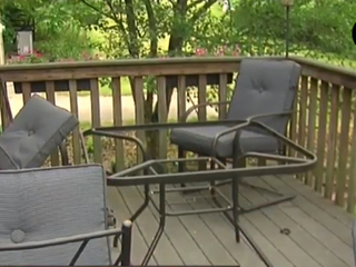 Glass patio tables can shatter without warning