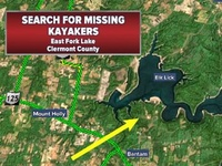 4 kayakers found safe at East Fork Lake