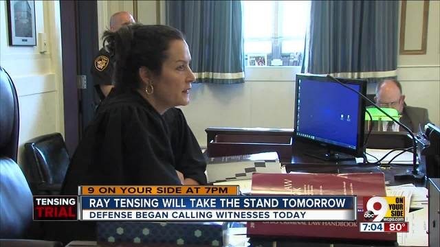 Ray Tensing will take stand Friday