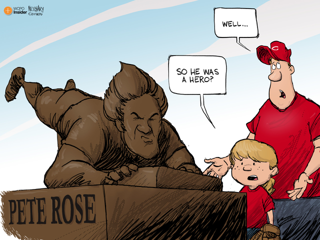 Cincinnati celebrates hometown star Pete Rose with statue