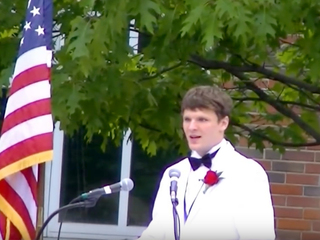 Watch Warmbier's high school graduation speech