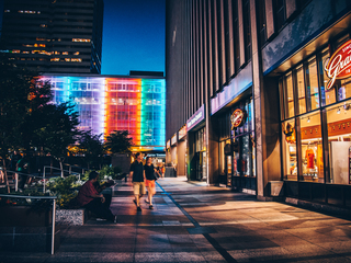 Cincygram views Downtown through a new light