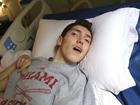 Boy struck by lightning still struggling