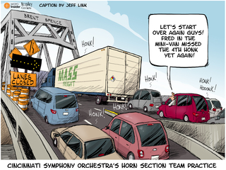 CAPTION THIS: Bridge backup