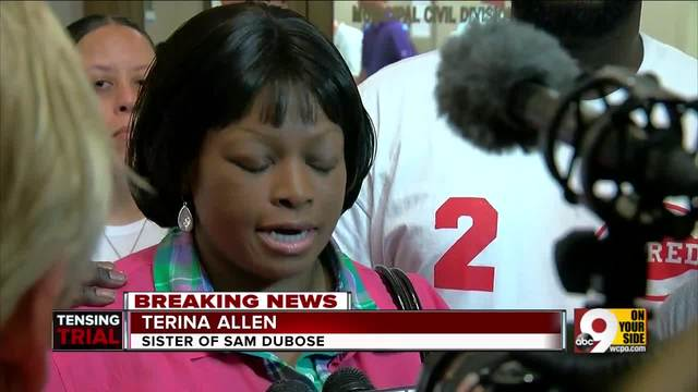 DuBose-s sister- -We are outraged-