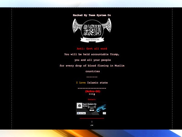 Ohio government websites hacked with pro-Islamic State rant