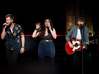 Lady Antebellum plays at Riverbend Music Center