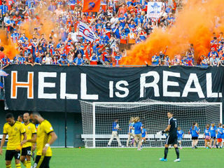 Are FC Cincy fans hellbent on getting to MLS?