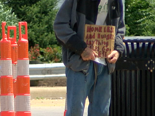 City looks at donation meters to help homeless