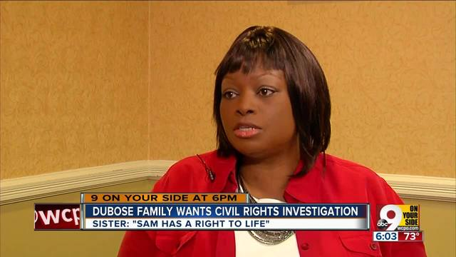 DuBose family wants a civil rights investigation