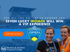 Enter to win a VIP experience at the W&S Open