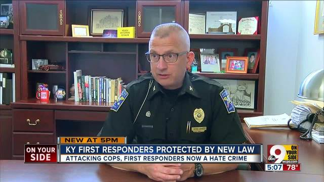 Kentucky 'Blue Lives Matter' law classifies violence against
