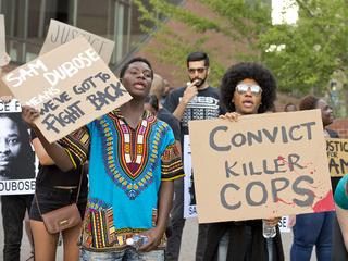Protestors demand justice for Sam DuBose