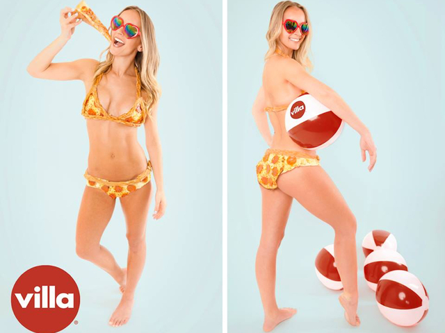 This bikini made entirely out of pizza will cost you $10000