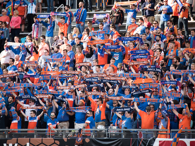 Date set for FC Cincinnati rescheduled UC Open Cup quarterfinal game
