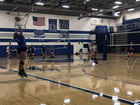 For Scott volleyball champs, no gym is too hot