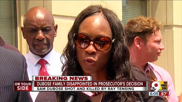 Dubose family- supporters disappointed in Deters- decision