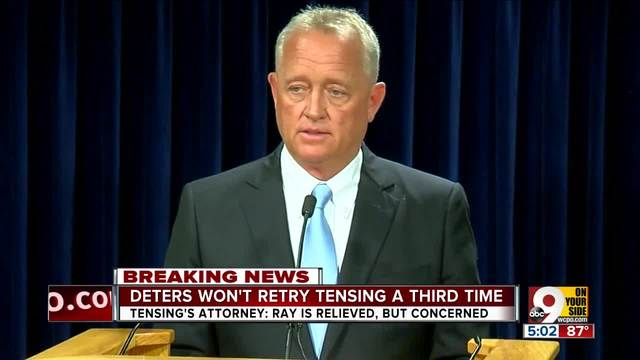Deters- Jurors indicated we-d never be able to convict Ray Tensing