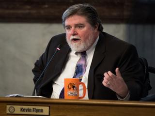 Kevin Flynn didn't let paralysis stop him