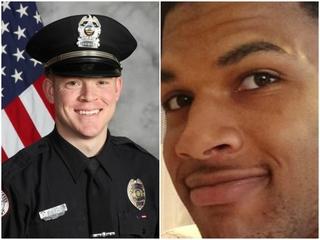 Officer who shot man at Walmart back on duty