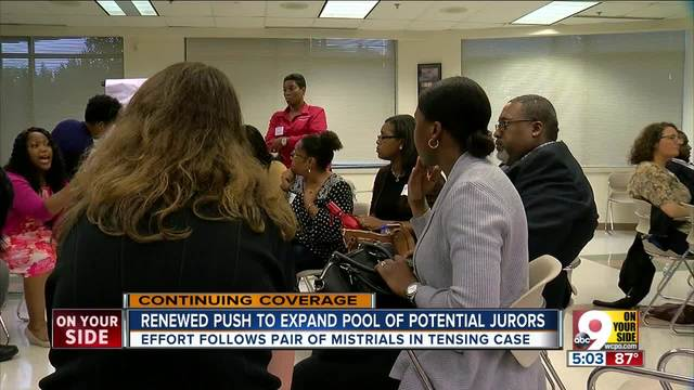Amid frustration over Tensing case- activists call for jury pool reform in Ohio