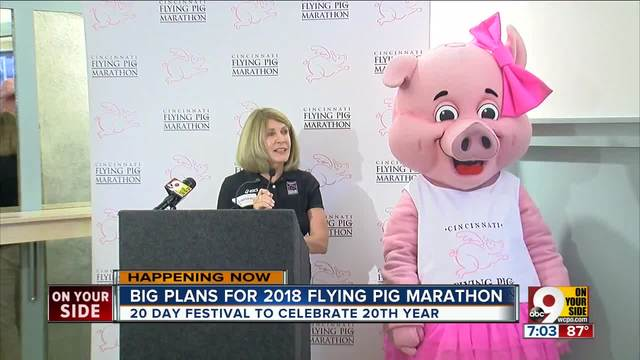 Huge 20-day festival will kick off 20th annual Flying Pig