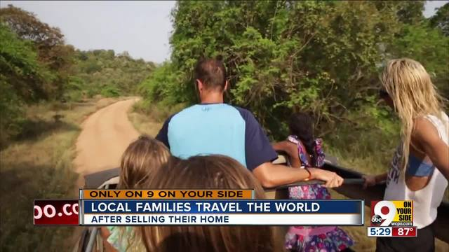 Journey of the Globe- The world is this Greater Cincinnati family-s classroom