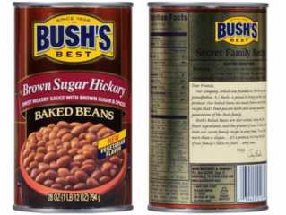 Bush's Baked Beans recalls 3 products