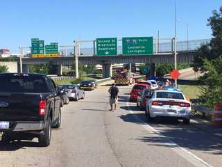 Shooting closes busy Downtown freeway ramp