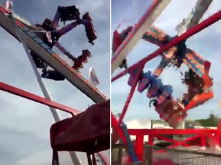 Video shows moment ride broke at Ohio State Fair