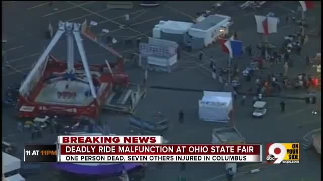 Deadly ride malfunction at Ohio State Fair