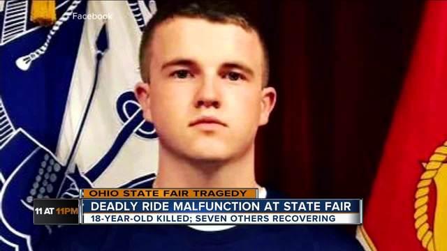 Community mourns victim of fair ride malfunction