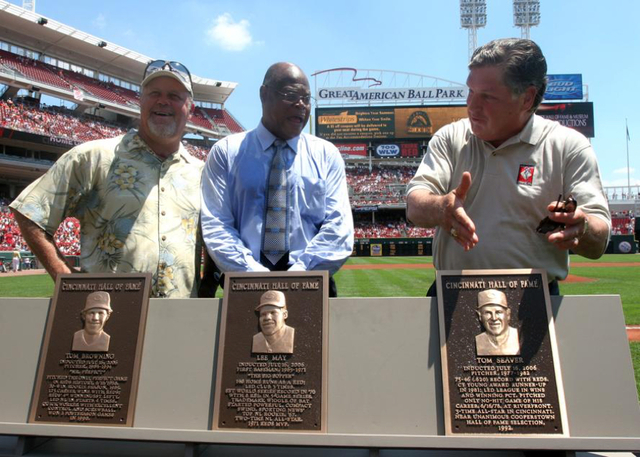 Reds Mourn Death Of Lee May