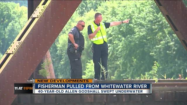 Fire chief- Man-s body found in Whitewater River