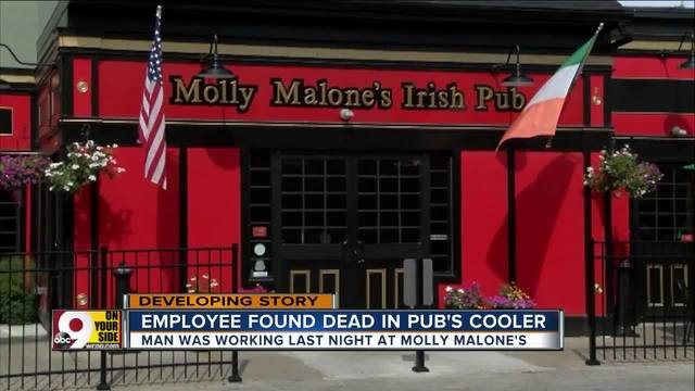 Worker whose body was found in Cincinnati pub's cooler is identified