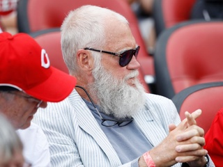 David Letterman enjoys first visit to GABP