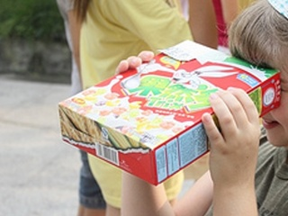 VIDEO: Make an eclipse viewer from a cereal box