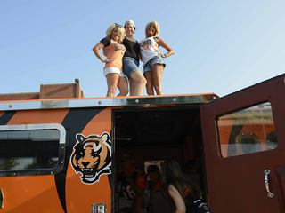 Bengals fans tailgate to open preseason