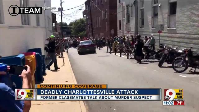 "The man accused of driving a car into a crowd of people in Charlottesville ""would proclaim himself as a Nazi,"" one of his former classmates said"