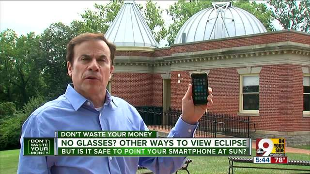 Can you view eclipse on your smartphone-