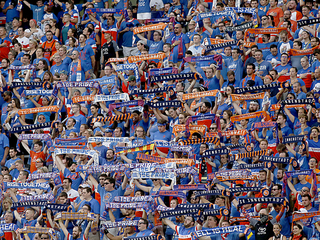 Fans applaud defeated FC Cincinnati