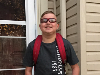 This smiling boy died on his first day of school