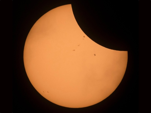 LIVE VIDEO: The solar eclipse is upon us