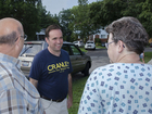 Cranley stumps for votes one house at a time