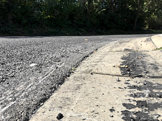 Ft. Wright residents upset with newly-paved road