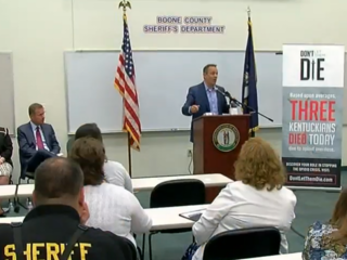 Bevin brings Narcan to restock heroin responders