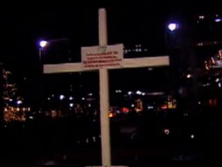 Vault: KKK erected cross on Fountain Square